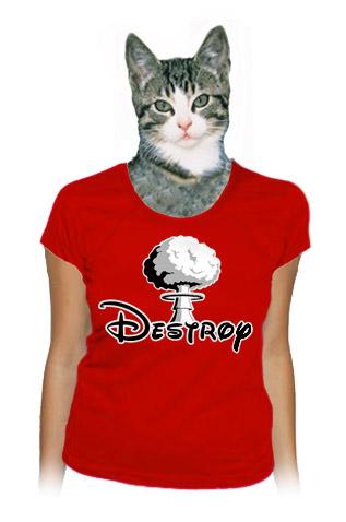 Destroy dámské tričko