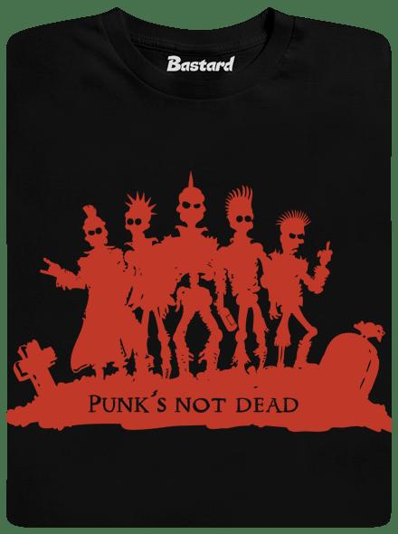 Bastard Punk's Not Dead pánské tričko – nový střih