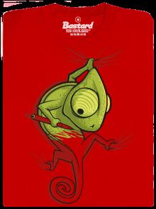 Bastard Zmizík červené pánské tričko