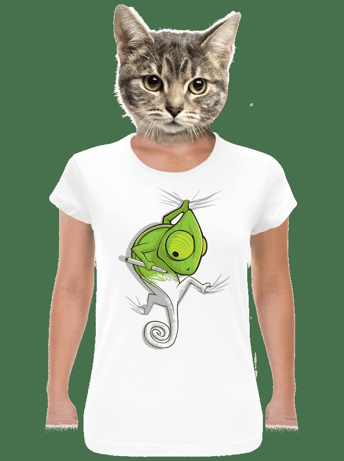 Zmizík bílé dámské tričko klasik