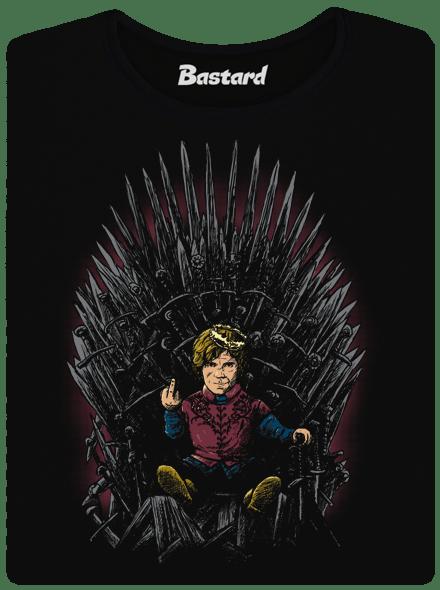 Bastard Tyrion na trůnu dámské tričko