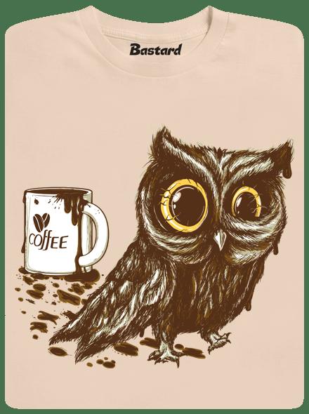 Bastard Sova na kofeinu pánské tričko