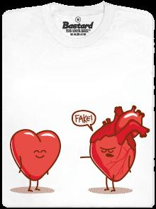 Bastard Srdeční záležitost bílé pánské tričko