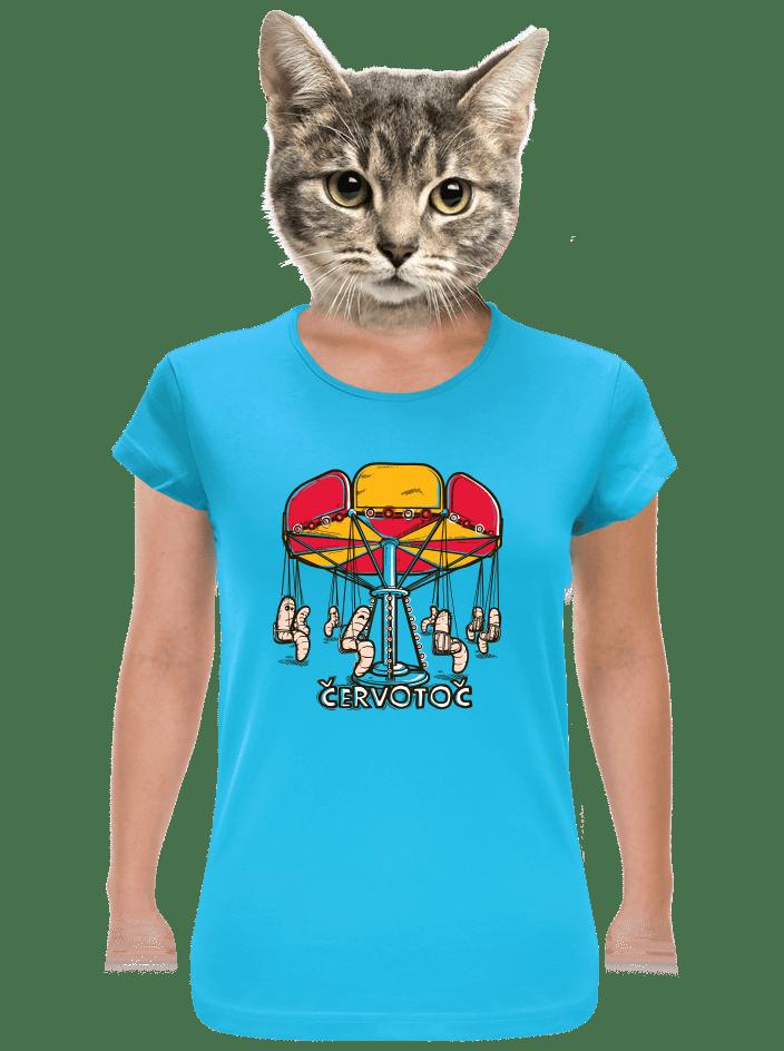 Červotoč dámské tričko