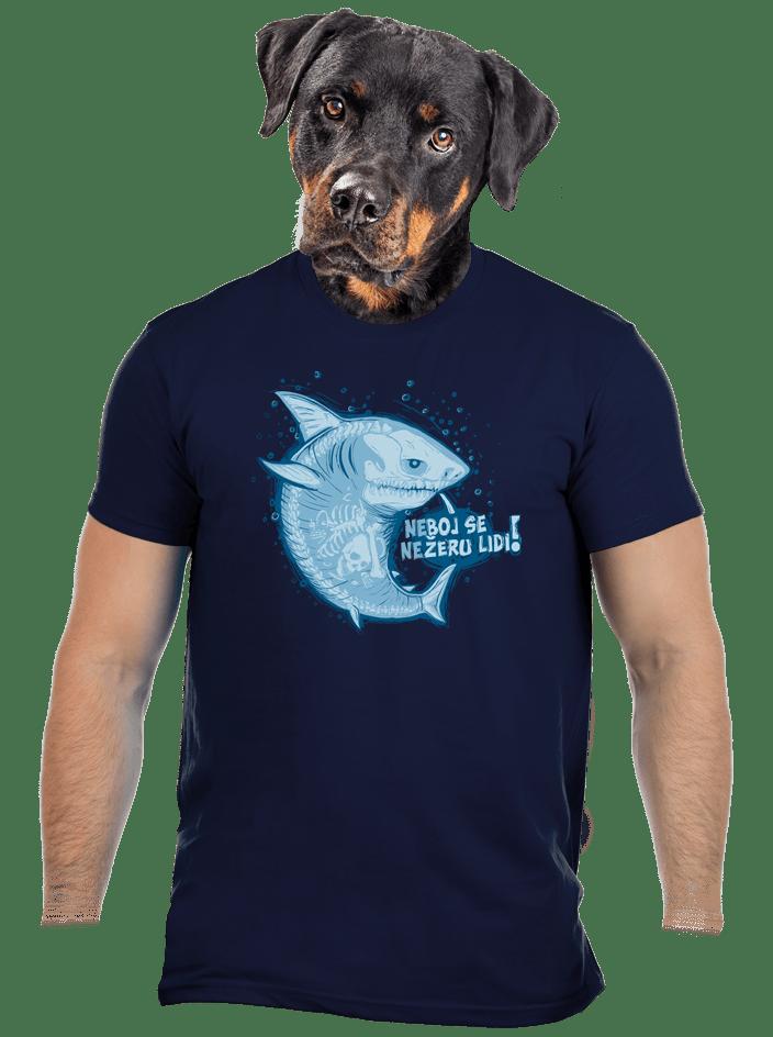 Nežeru lidi pánské tričko - nový střih