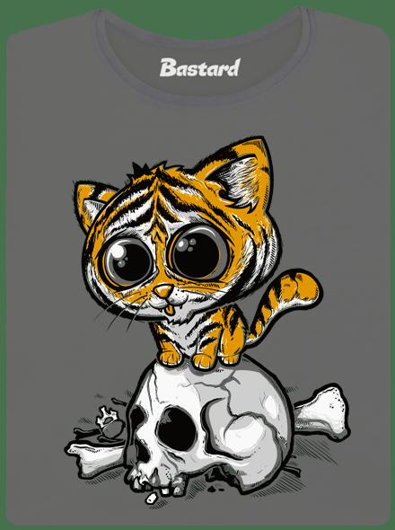 Bastard Tygřík šedé dámské tričko