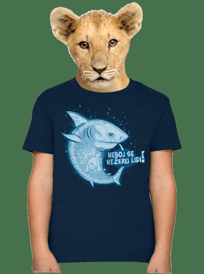 Nežeru lidi dětské tričko