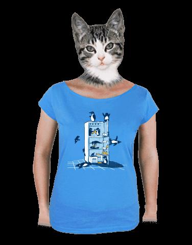 Pařba v lednici dámské tričko
