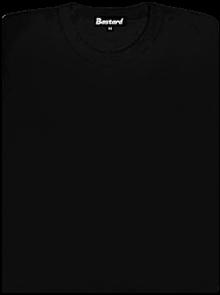 Bastard Dámské tričko klasické černé