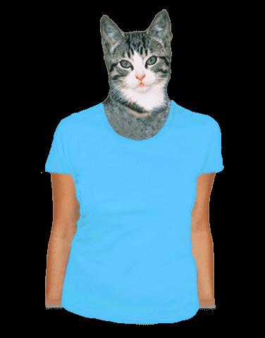 Dámské tričko klasické tyrkysové