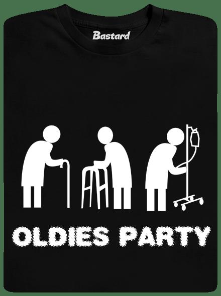 Bastard Oldies party černé pánské tričko