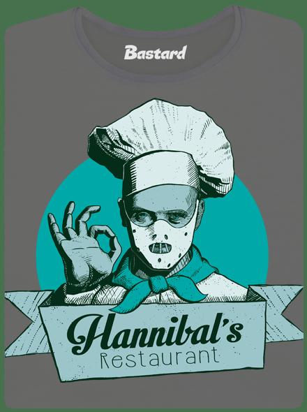 Bastard U Hannibala dámské tričko