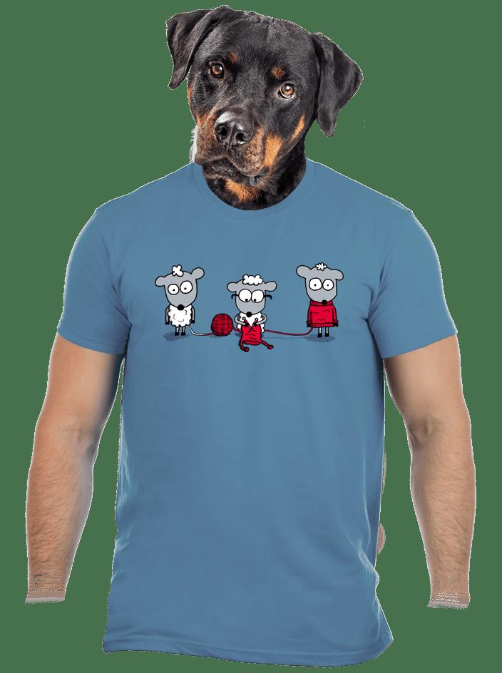 Koloběh vlny pánské tričko