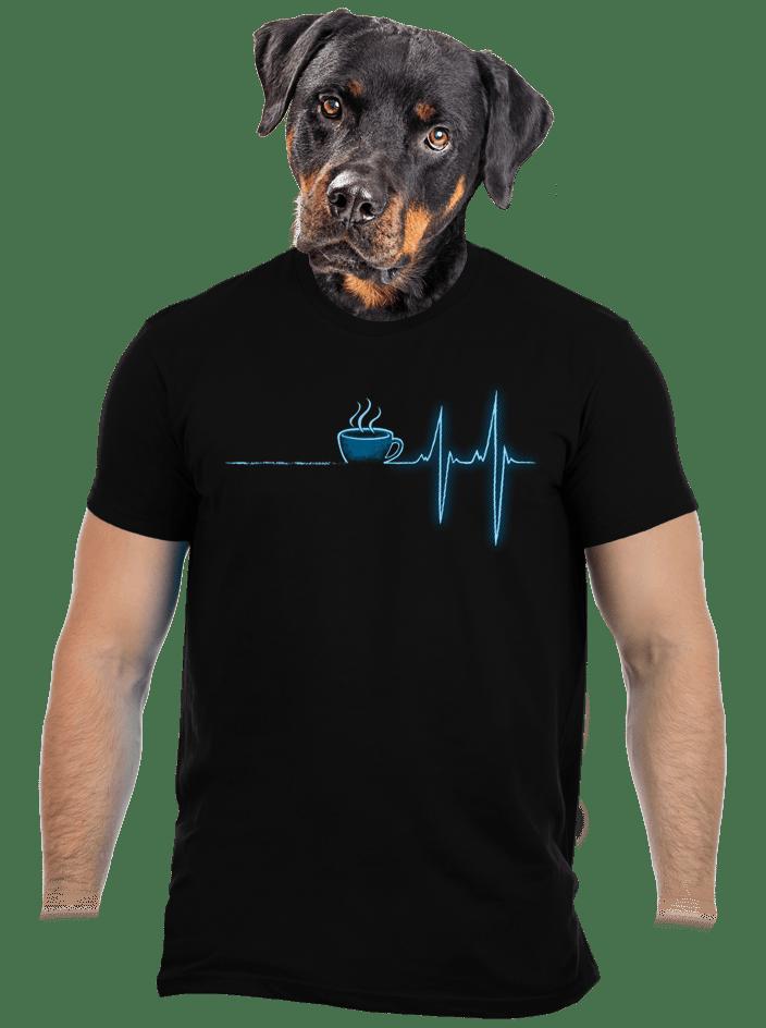Coffee help pánské tričko - nový střih