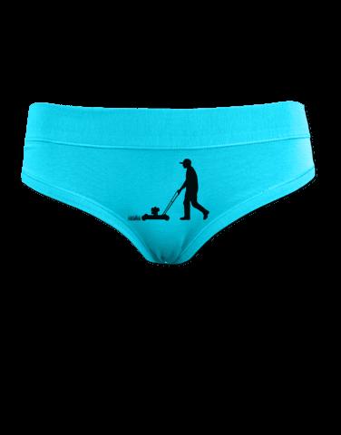 Sekačka - tyrkysové kalhotky