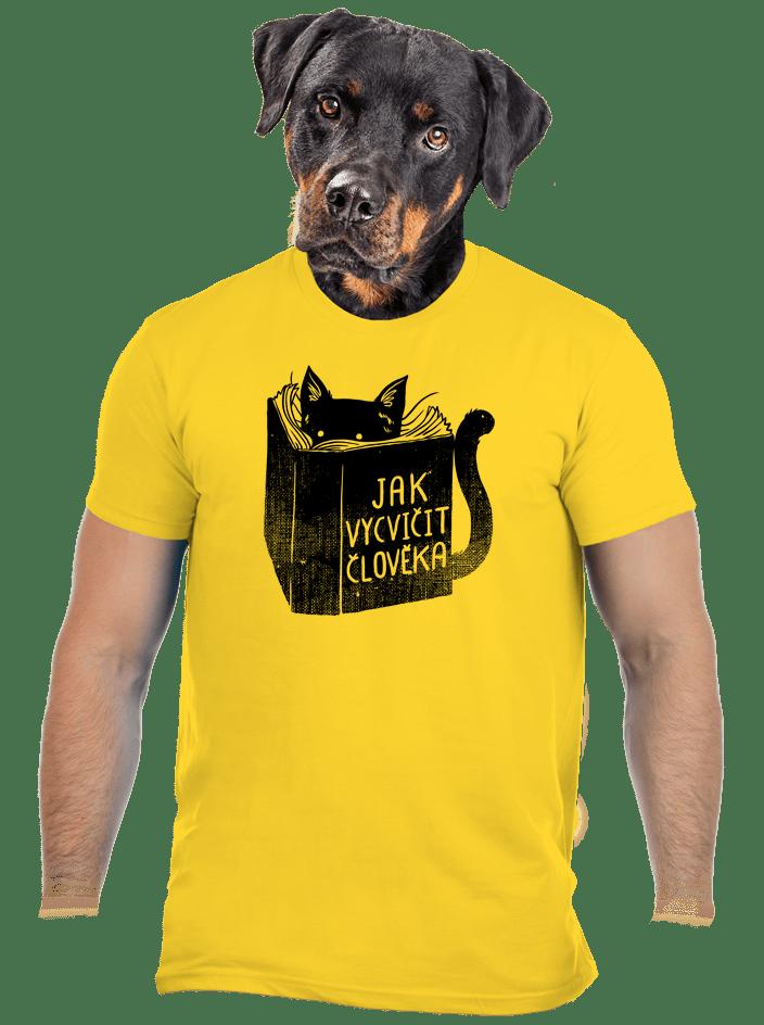 Povinná četba žluté pánské tričko