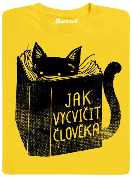 Bastard Povinná četba žluté pánské tričko