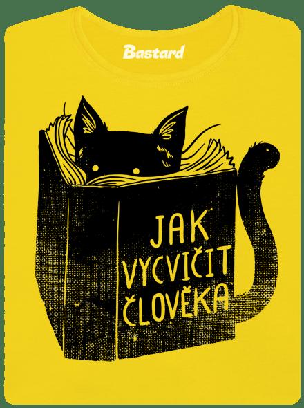 Bastard Povinná četba žluté dámské tričko