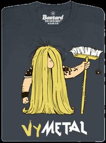 Bastard Metalista tmavě šedé pánské tričko