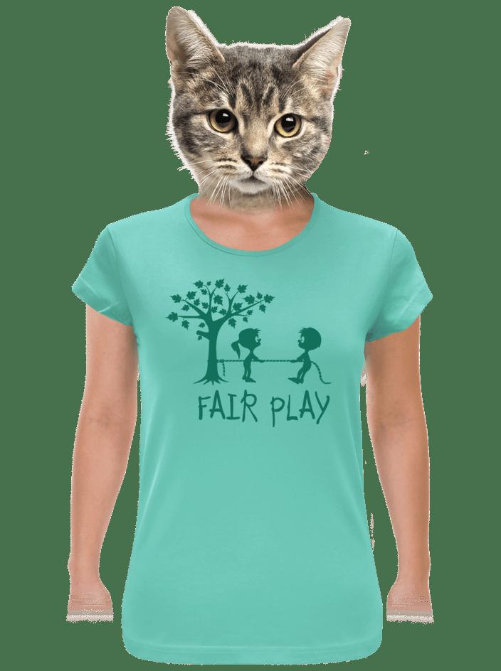 Fair play zelené dámské tričko