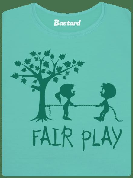 Bastard Fair play zelené dámské tričko