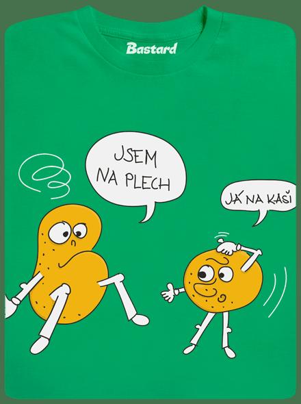 Bastard Opilé brambory zelené pánské tričko