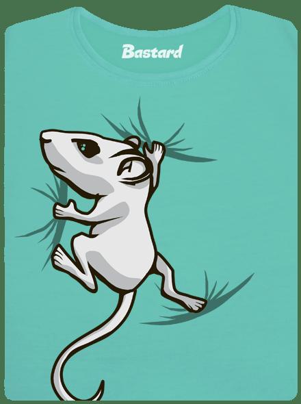 Bastard Myšák zelené dámské tričko