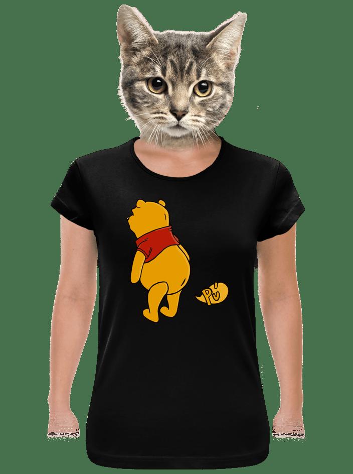 Ups černé dámské tričko