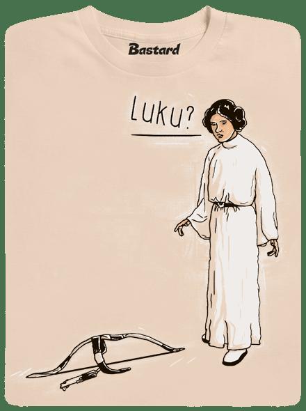 Bastard Luke a Leia pánské tričko