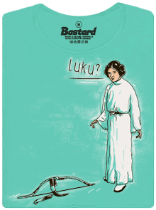 Bastard Luke a Leia dámské tričko