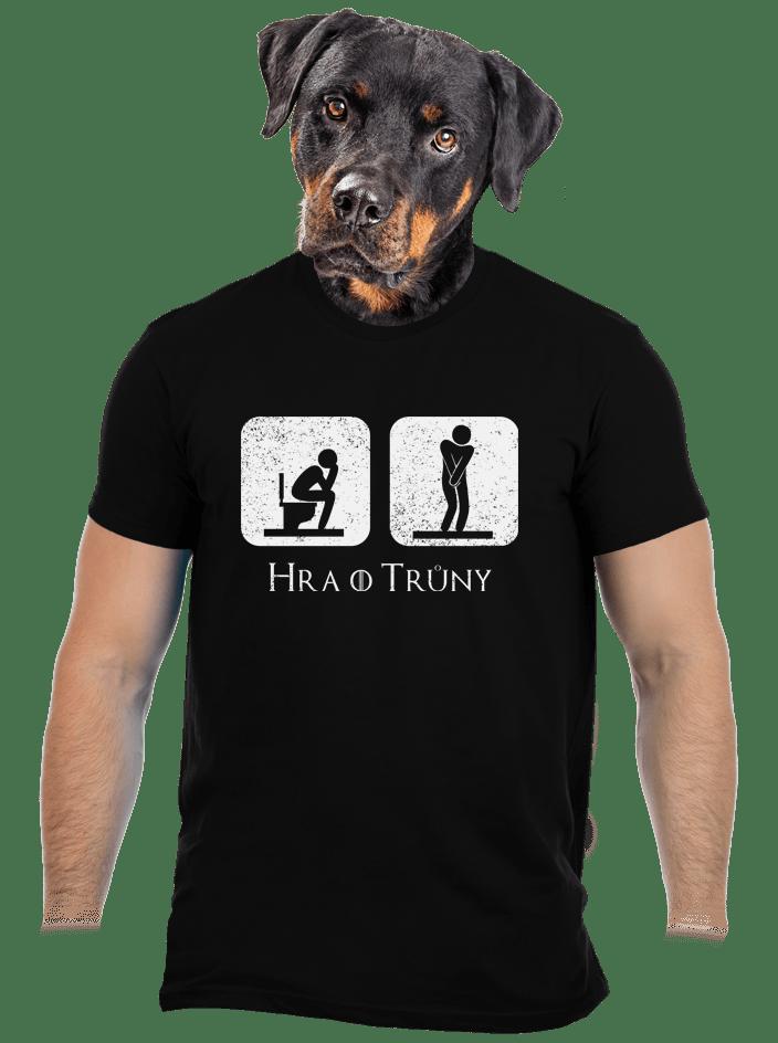 Hra o trůny černé pánské tričko
