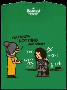 Bastard You Know Nothing pánské tričko