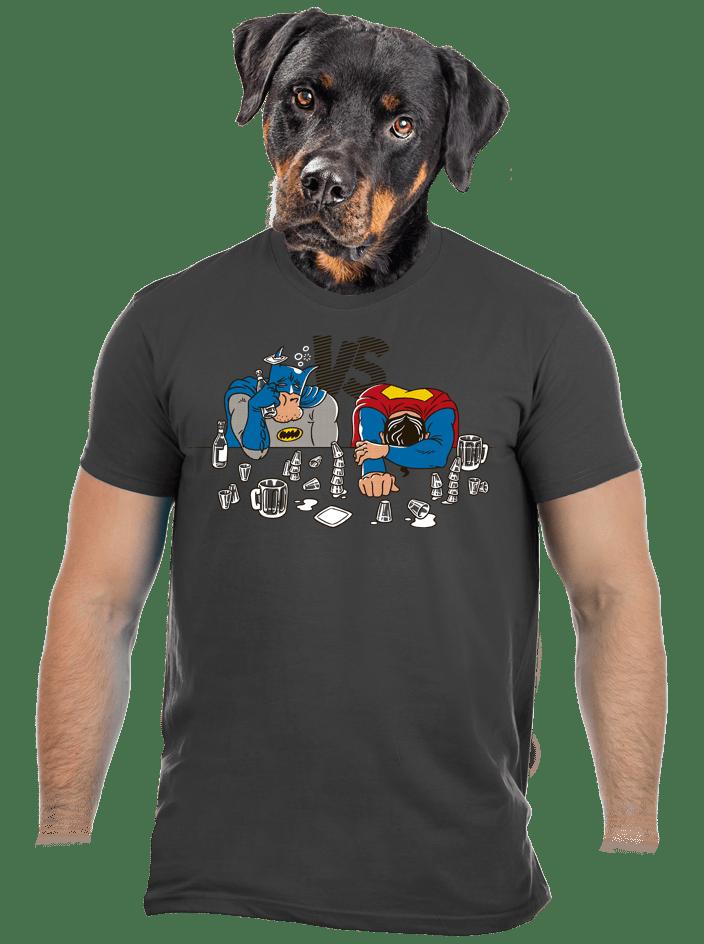 Souboj superhrdinů pánské tričko