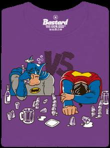 Bastard Souboj superhrdinů dámské tričko