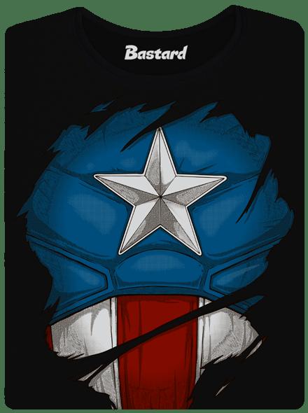 Bastard Captain Inside dámské tričko klasik