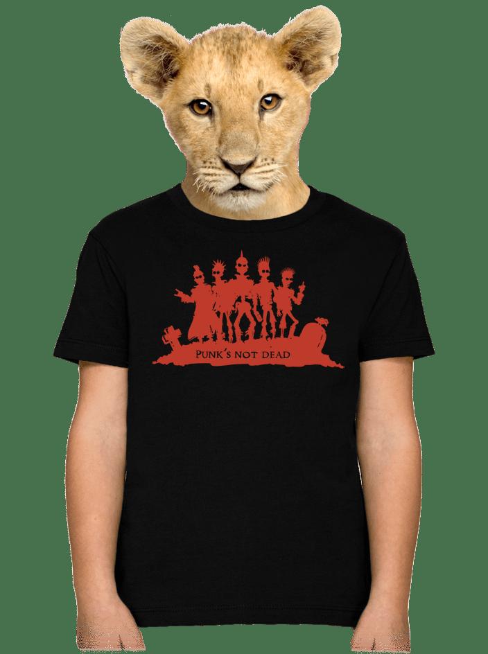 Punk's Not Dead dětské tričko
