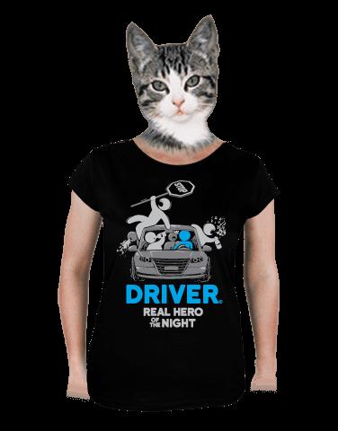 Driver dámské tričko klasik