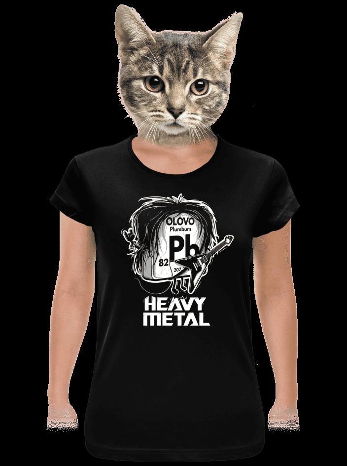 Heavy Metal dámské tričko