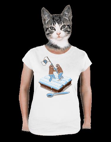 Polární expedice dámské tričko