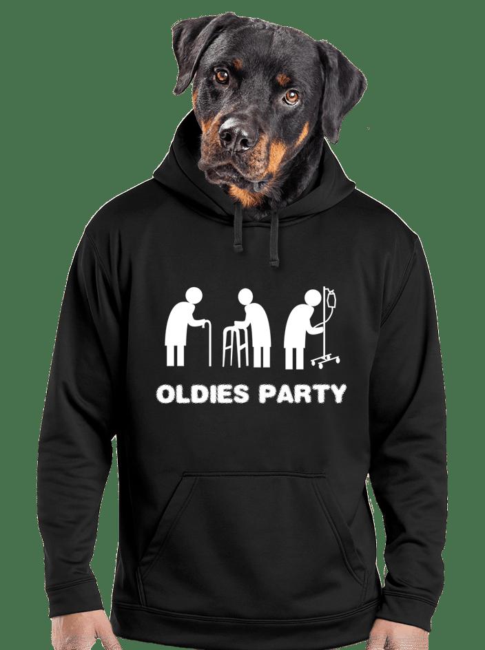 Oldies party pánská mikina