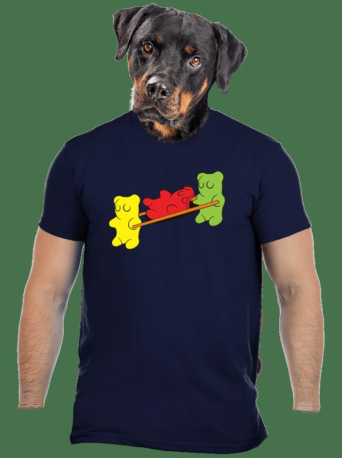 Gumídci pánské tričko