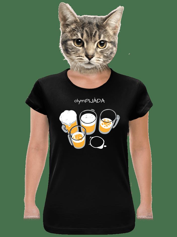 Pijáda dámské tričko