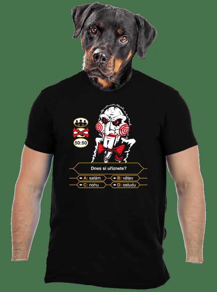Milionář pánské tričko