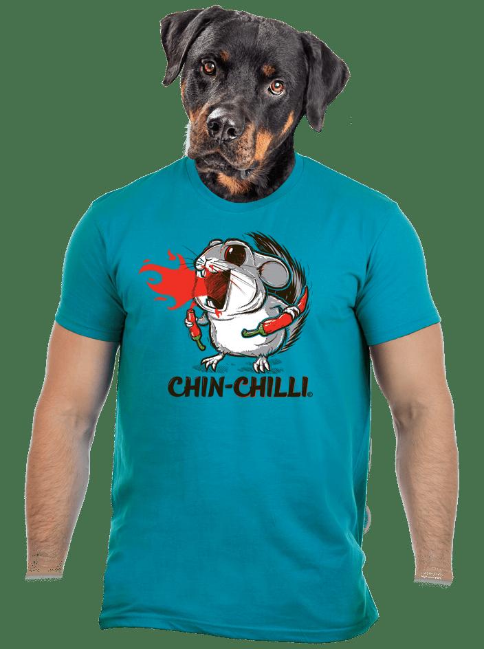 Chinchilli modré pánské tričko