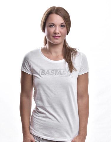 B 10 bílé dámské tričko