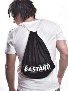 Bastard B 10 vak na záda