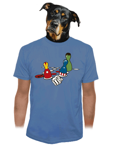 Superhrdino nezlob se pánské tričko