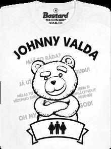 Bastard Valda Méďa bílé dámské tričko