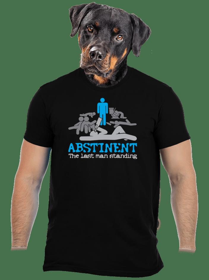 Abstinent pánské tričko - nový střih