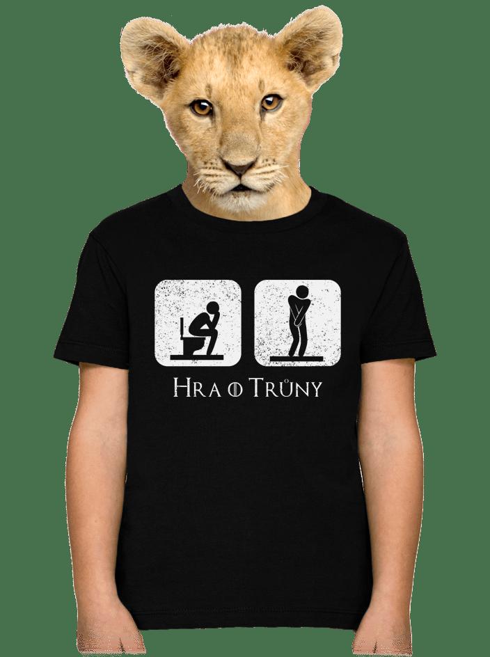 Hra o trůny dětské tričko